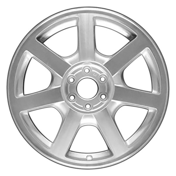 CCI® - 18 x 8 7-Spoke Diamond Cut Polished and Silver Alloy Factory Wheel (Remanufactured)
