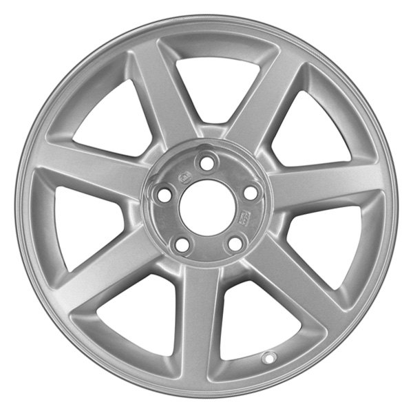 "CCI® - 17"" Remanufactured Rear 7 Spokes Silver Factory Alloy Wheel"