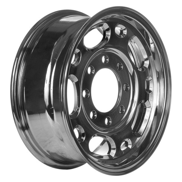 "CCI® - 16"" Remanufactured 10 Holes Dark PVD Chrome Factory Alloy Wheel"