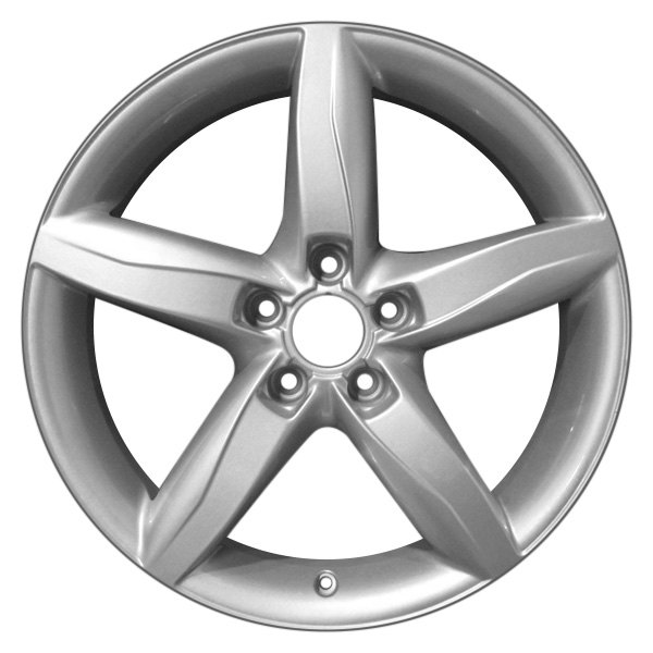 "CCI® - 18"" Remanufactured 5 Spokes Polished Factory Alloy Wheel"
