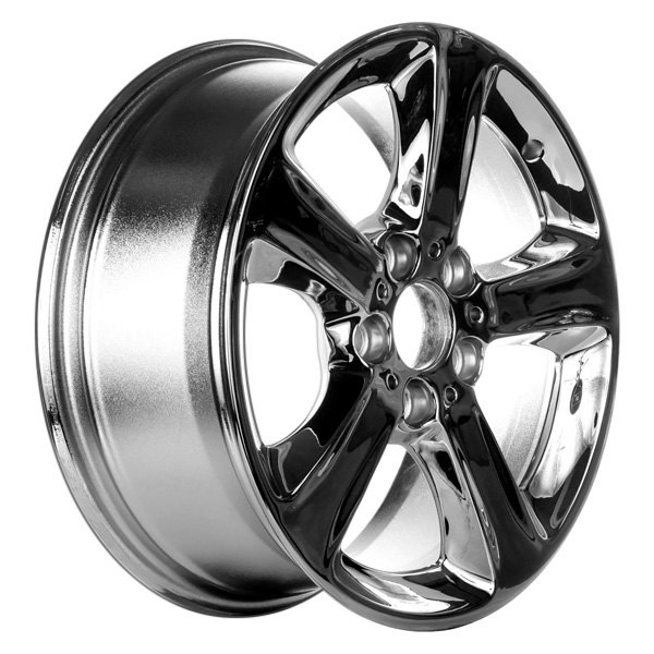 "CCI® - 17"" Remanufactured 5 Flat Spokes Chrome Factory Alloy Wheel"