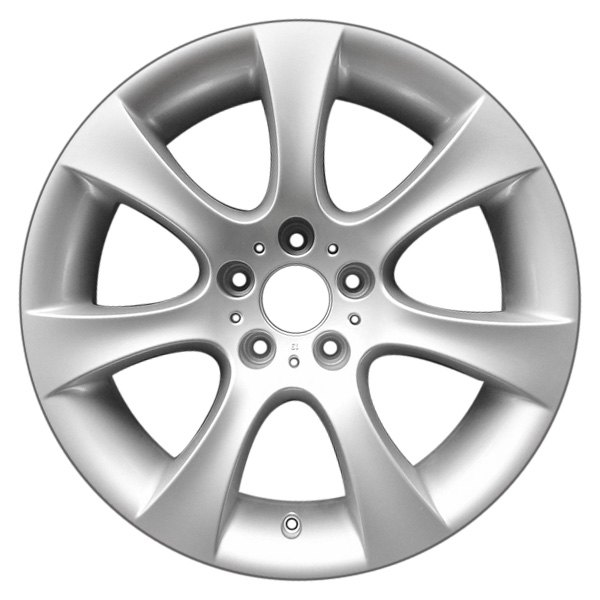 "CCI® - 18"" Remanufactured Front 7 Flared Spokes Silver Factory Alloy Wheel"