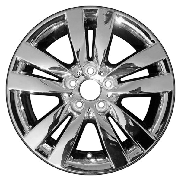 "CCI® - 17"" Remanufactured 10 Spokes Chrome Factory Alloy Wheel"