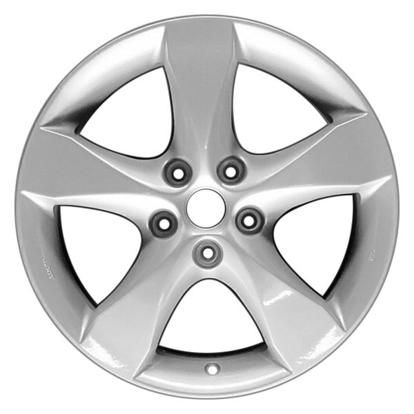 CCI® - 17 x 7.5 5 Tapered-Spoke Silver Alloy Factory Wheel (Replica)