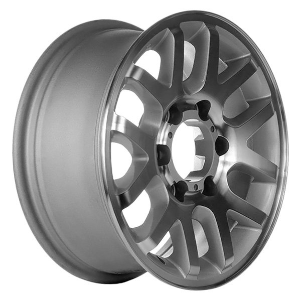 CCI® - 16 x 7 12-Spoke Bright Silver Acrylic Textured Alloy Factory Wheel (Remanufactured)