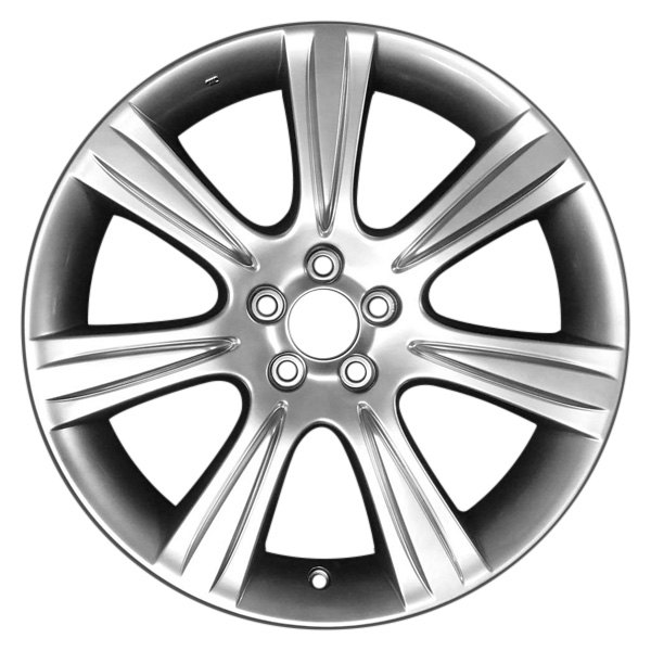 CCI® - 18 x 7 7-Spoke Hyper Silver Alloy Factory Wheel (Remanufactured)