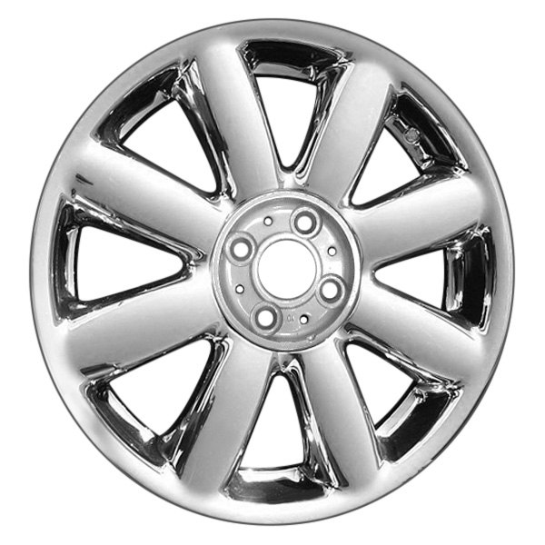 "CCI® - 17"" Remanufactured 8 Spokes Chrome Factory Alloy Wheel"