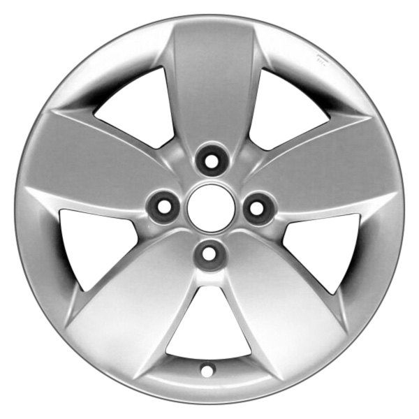 "CCI® - 15"" Remanufactured 5 Spokes All Painted Sparkle Silver Factory Alloy Wheel"