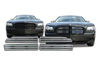 CCI® - 4-Pc Chrome Main Grille