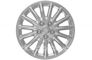 CCI® - Universal Silver Wheel Covers 16""