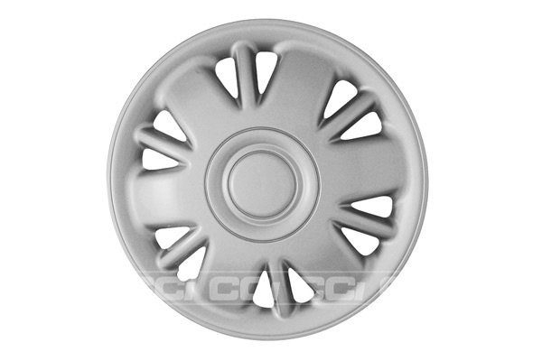 CCI® - Universal Silver Wheel Cover 15""