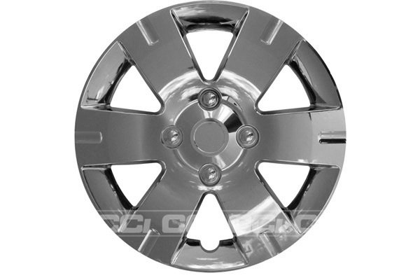 CCI® - Universal Chrome Wheel Cover 15""