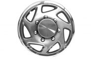 CCI® - Universal Silver and Chrome Wheel Covers 16""