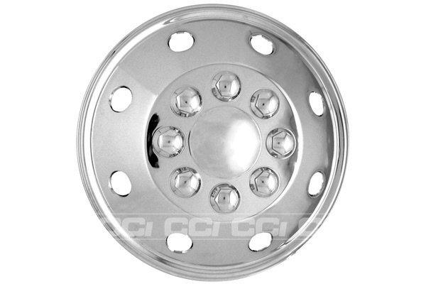 CCI® - Universal Chrome Wheel Simulator 16.5""