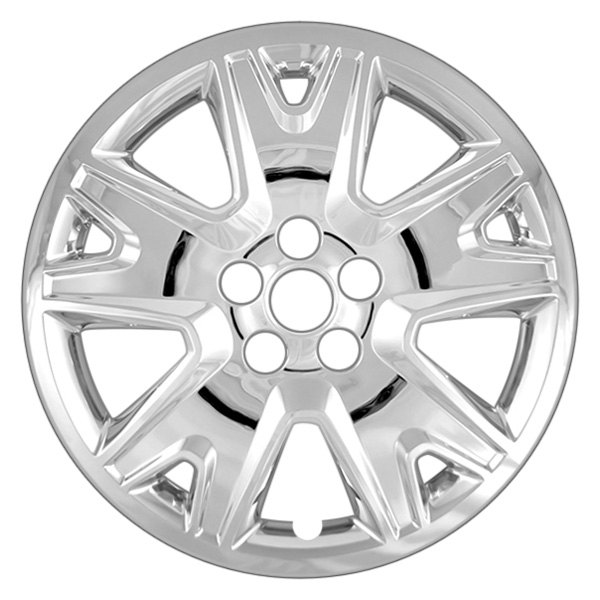 "CCI® - 17"" 5 Split Spokes Chrome Wheel Cover"