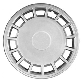 "CCI® - 15"" 15 Slots Silver Wheel Cover Set"