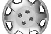 "CCI® - 13"" 8 Spokes Directional 8 Directional Vents Silver Wheel Covers"