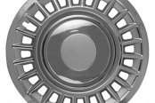"CCI® - 16"" 24 Chrome Spokes 24 Vents Chrome Silver Wheel Covers"