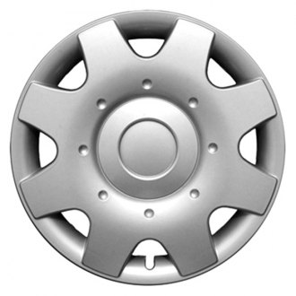 "CCI® - 16"" 8 Spokes 8 Vents Silver Wheel Cover Set"