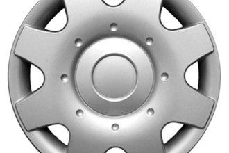 "CCI® - Universal 16"" 8 Spokes 8 Vents Silver Wheel Covers"