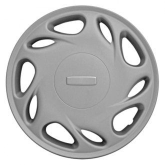 "CCI® - 15"" 10 Directional Multi-Vents Silver Wheel Cover Set"