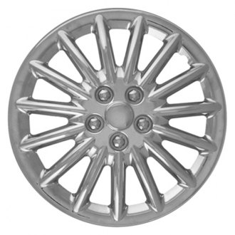 "CCI® - 15"" 15 Spokes Chrome Wheel Cover Set"