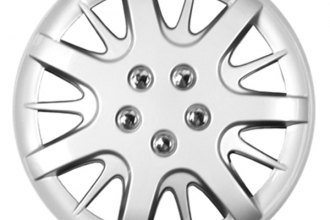"CCI® - 16"" 7 Split Spokes 7 Double Vents Silver Wheel Covers"