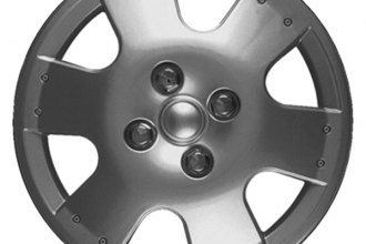 "CCI® - Universal 14"" 6 Spokes 6 Vents Silver Wheel Covers"