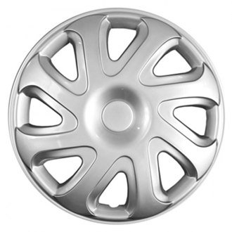 "CCI® - 14"" Standard 8 Directional Spokes 8 Directional Vents Silver Wheel Cover Set"