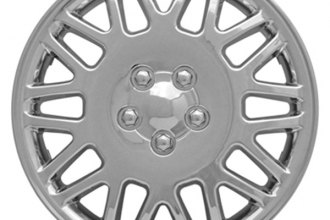 "CCI® - 15"" Lace Design Chrome Wheel Cover Set"