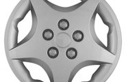 "CCI® - Universal 14"" 5 Spokes 5 Vents Silver Wheel Covers"