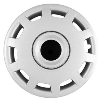 "CCI® - 15"" 10 Slots Silver Wheel Cover Set"