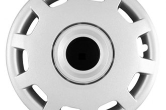 "CCI® - Universal 15"" 10 Slots Silver Wheel Covers"