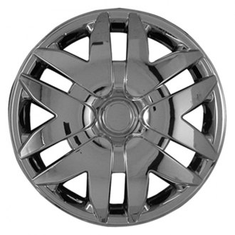 "CCI® - 16"" 12 Spokes Chrome Wheel Covers"