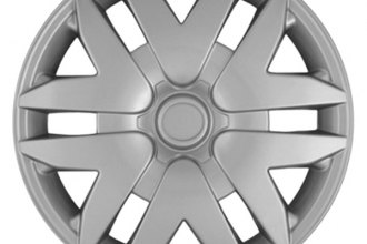 "CCI® - Universal 16"" 6 Split V Spokes Silver Wheel Covers"