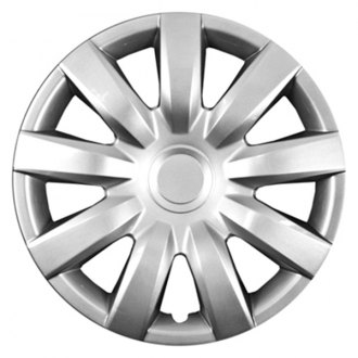 "CCI® - 15"" 9 Spokes Silver Wheel Cover Set"