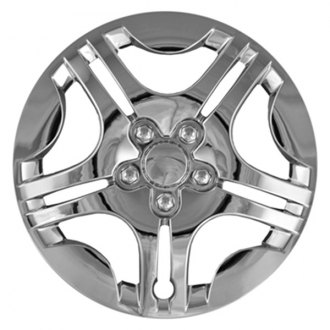 "CCI® - 15"" Star Design 5 Split Spokes Chrome Wheel Cover Set"
