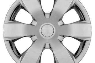 "CCI® - Universal 14"" 6 Wide Spokes Chrome Wheel Covers"