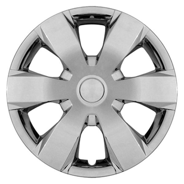 "CCI® - Universal 16"" 6 Wide Spokes Chrome Wheel Covers"