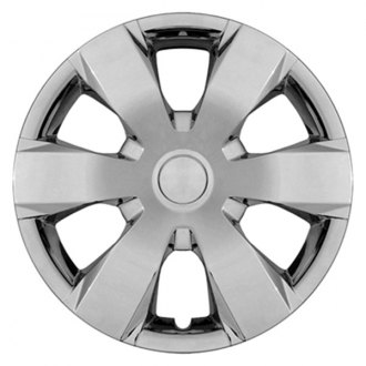 CCI® - Universal 16 6 Wide Spokes Chrome Wheel Covers