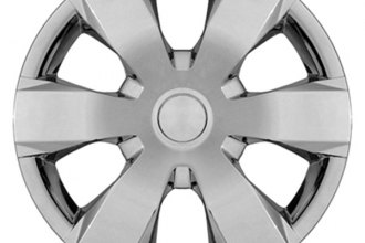 "CCI® IWC42916S - 16"" 6 Wide Spokes Silver Wheel Covers"