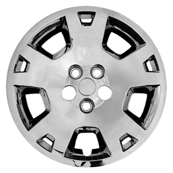 "CCI® - 17"" 5 Vented Wide Spokes 5 Vents Chrome Wheel Cover Set"