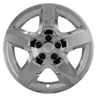 "CCI® - 17"" 5 Raised Spokes Chrome Wheel Cover Set"