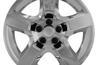 "CCI® IWC43517C - 17"" 5 Raised Spokes Chrome Wheel Covers"