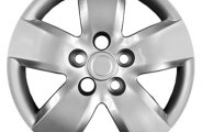 "CCI® - 16"" 5 Wide Spokes Silver Wheel Covers"