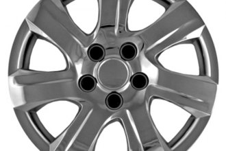 "CCI® - 16"" 7 Spokes 7 Slots Chrome Wheel Cover Set"