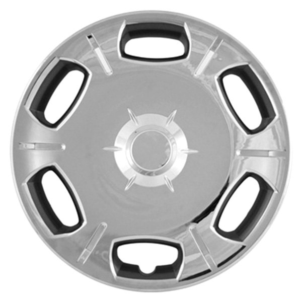 "CCI® - 16"" 6 Spokes 15 Vents Chrome Wheel Covers"