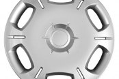 "CCI® - 16"" 6 Spokes 15 Vents Silver Wheel Covers"