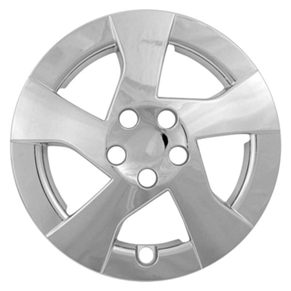 "CCI® - 15"" 5 Directional Spokes Chrome Wheel Covers"