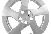 "CCI® - 15"" 5 Directional Spokes Silver Wheel Covers"